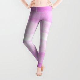 Little pink strokes Leggings
