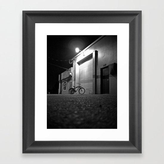 Night cruising Framed Art Print