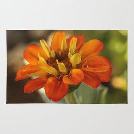 Marigold Flower Rug