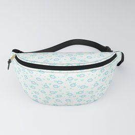 leaves and sparkle ~smile~ pattern2 Fanny Pack