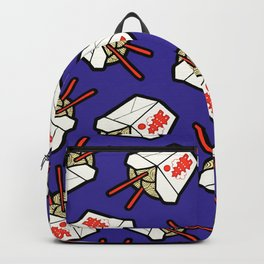 Take-Out Noodles Box Pattern Backpack