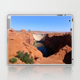Glen Canyon Dam And Colorado River Laptop & iPad Skin