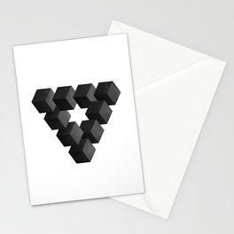 Reutersvard Triangle Stationery Cards