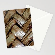basketweave Stationery Cards
