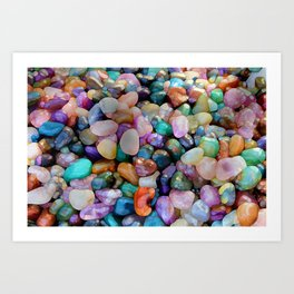 Eye Candy Art Print