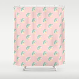 Makoto & Nagisa / Orca & Penguin Shower Curtain