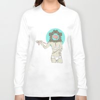brain Long Sleeve T-shirts featuring Brain ! by UNCOMMON Graphic Design