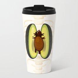 Avocado Anatomy Travel Mug