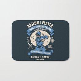 BASEBALL PLAYER - World Champion League. Bath Mat