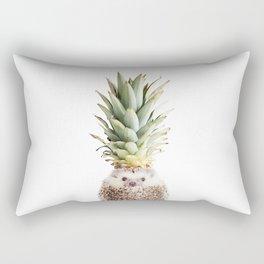 Hedgehog Pineapple Rectangular Pillow