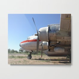 Douglas DC-6 Metal Print