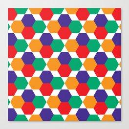 Geometric Shapes 03 Canvas Print