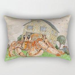 Hermit Apocalypse Rectangular Pillow