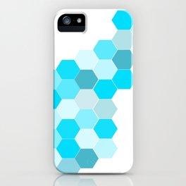 Honeycomb - Turq iPhone Case