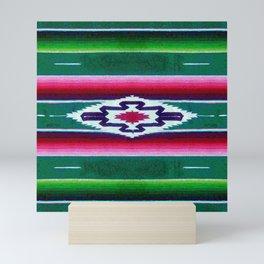 Mexican Sarape Pattern  Mini Art Print