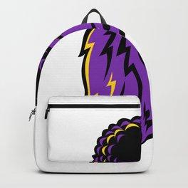 Poodle Head Mascot Backpack