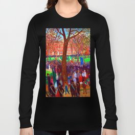 William Glackens Parade Washington Square Long Sleeve T-shirt