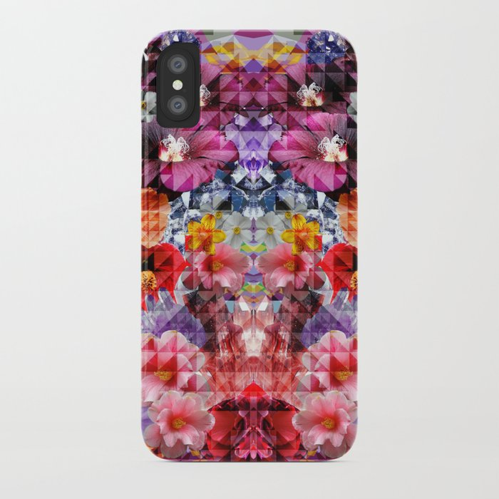 Crystal Floral iPhone Case