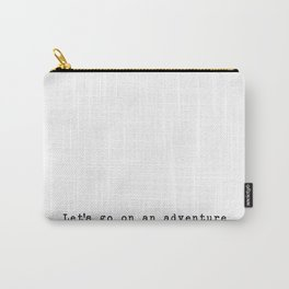 Adventure [White] Carry-All Pouch