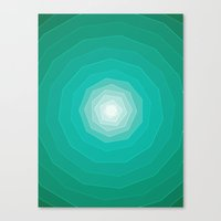polygon Canvas Prints featuring Polygon. by Caitlin Charters Bell