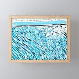 The Waves/ Dream Waves Framed Mini Art Print