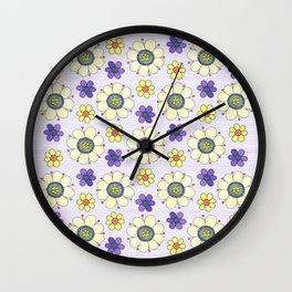 Crazy Daisies Wall Clock