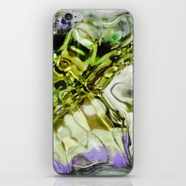 432 - abstract glass design iPhone Skin