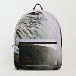 Gullfoss waterfall in Iceland - Landscape Photography Backpack