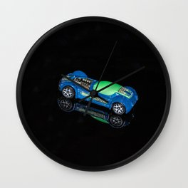 """""""Reflections"""" - Toy Car Wall Clock"""