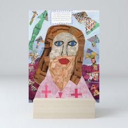 Crosses Jesus Mini Art Print