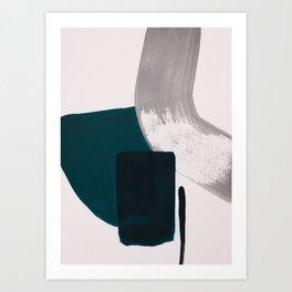 minimalist painting 02 Art Print