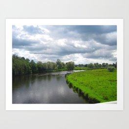 River Boyne Art Print