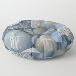 Sea Glass IV Floor Pillow