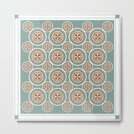 shelby repeat Metal Print