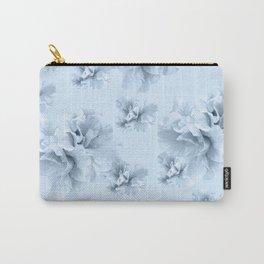 Light Blue Azalea Flower Dream #1 #floral #pattern #decor #art #society6 Carry-All Pouch