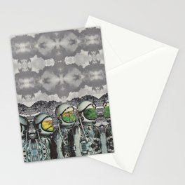Les Distantes Stationery Cards