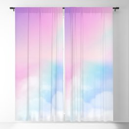 Pretty Rainbow Blackout Curtain