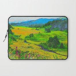 Alaska's Kenai Peninsula - Watercolor Laptop Sleeve