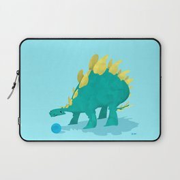 Stegosaurus and his Ball Laptop Sleeve