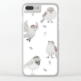 Sparrows Clear iPhone Case