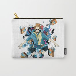 booklovers never go to bed alone Carry-All Pouch