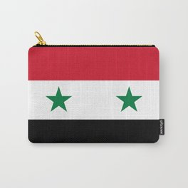 Syrian flag - may PEACE prevail Carry-All Pouch