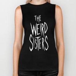 The Weird Sisters - White Biker Tank