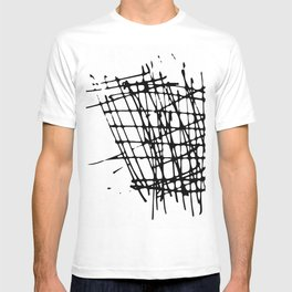 Sketch Black and White T-shirt