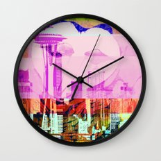 Seattle   Project L0̷SS   Wall Clock