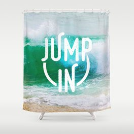 Jump In Shower Curtain