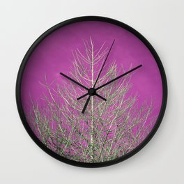 colourful tree Wall Clock