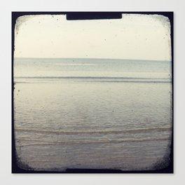 Peaceful sea Canvas Print