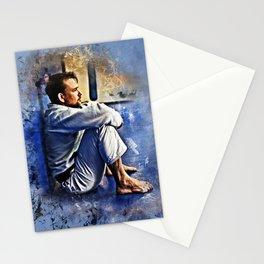 Flanery BJJ - Grunge Design Stationery Cards