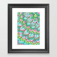Sharpie Doodle 8 Framed Art Print